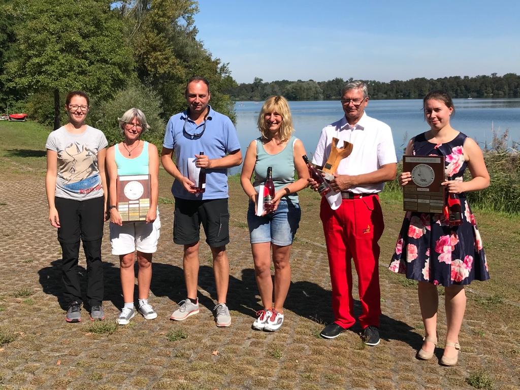 Hans-Heinrich Gerth gewinnt Yngling Ranglisten-Regatta in Leopoldshafen