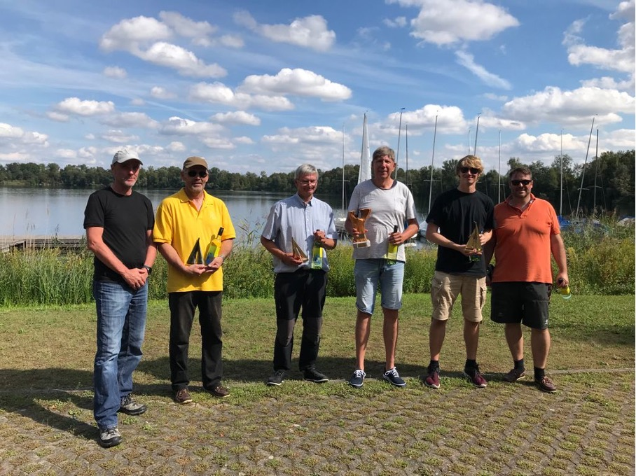 Yngling Ranglisten Regatta 2021 -Sturzregen und Flaute